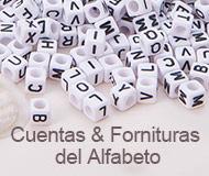 Cuentas & Fornituras del Alfabeto