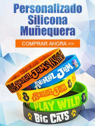 Personalizado Silicona Muñequera